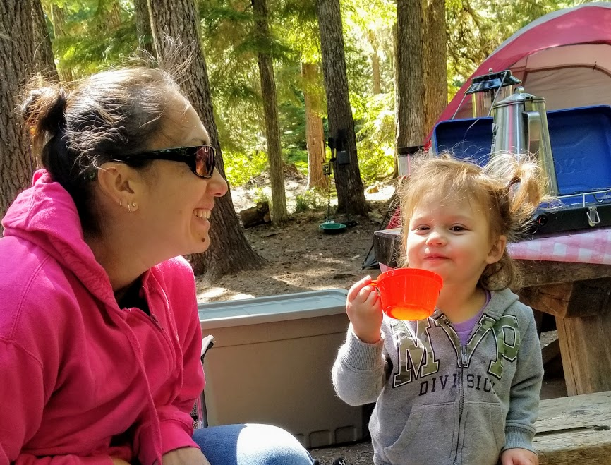 Camping With A Two Year Old: 10 Rules To Keep Your Sanity