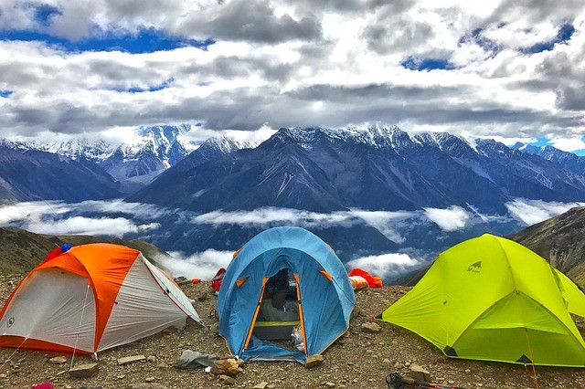 High Altitude Camping With Kids