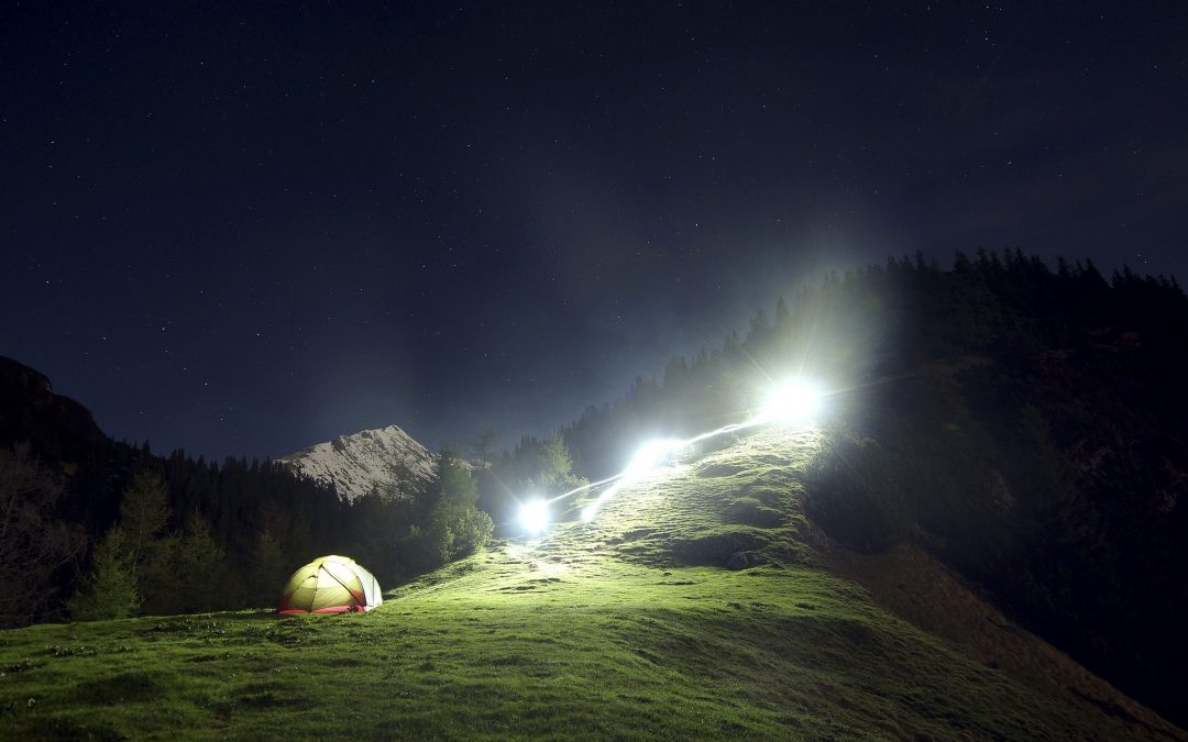 Campsite Lighting Ideas